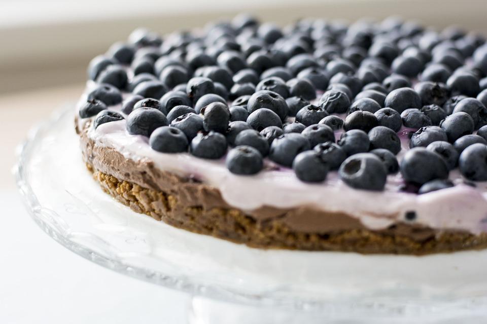 Mirtilli, Torta, Frutta, Sweet, Dessert, Mirtillo