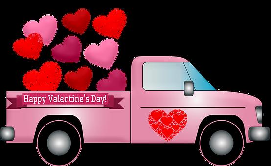 Valentine Truck, Hearts
