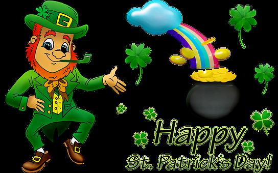 Happy St Patrick'S Day, Leprechaun