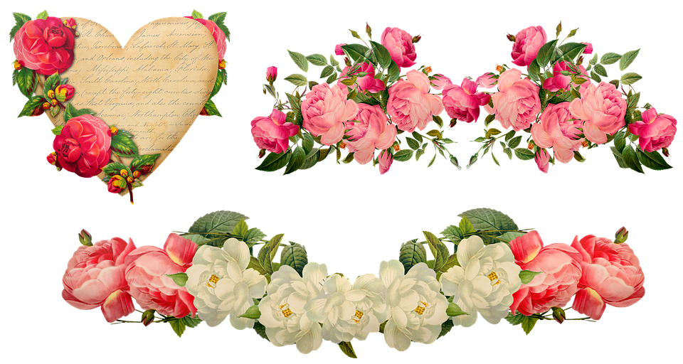 Valentine'S Day Décor Hearts Roses - Free image on Pixabay
