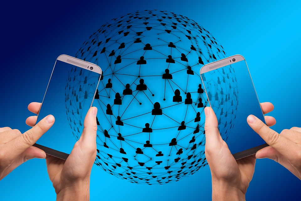 Smartphone, Network, Work, Gear, Gears, Blockchain