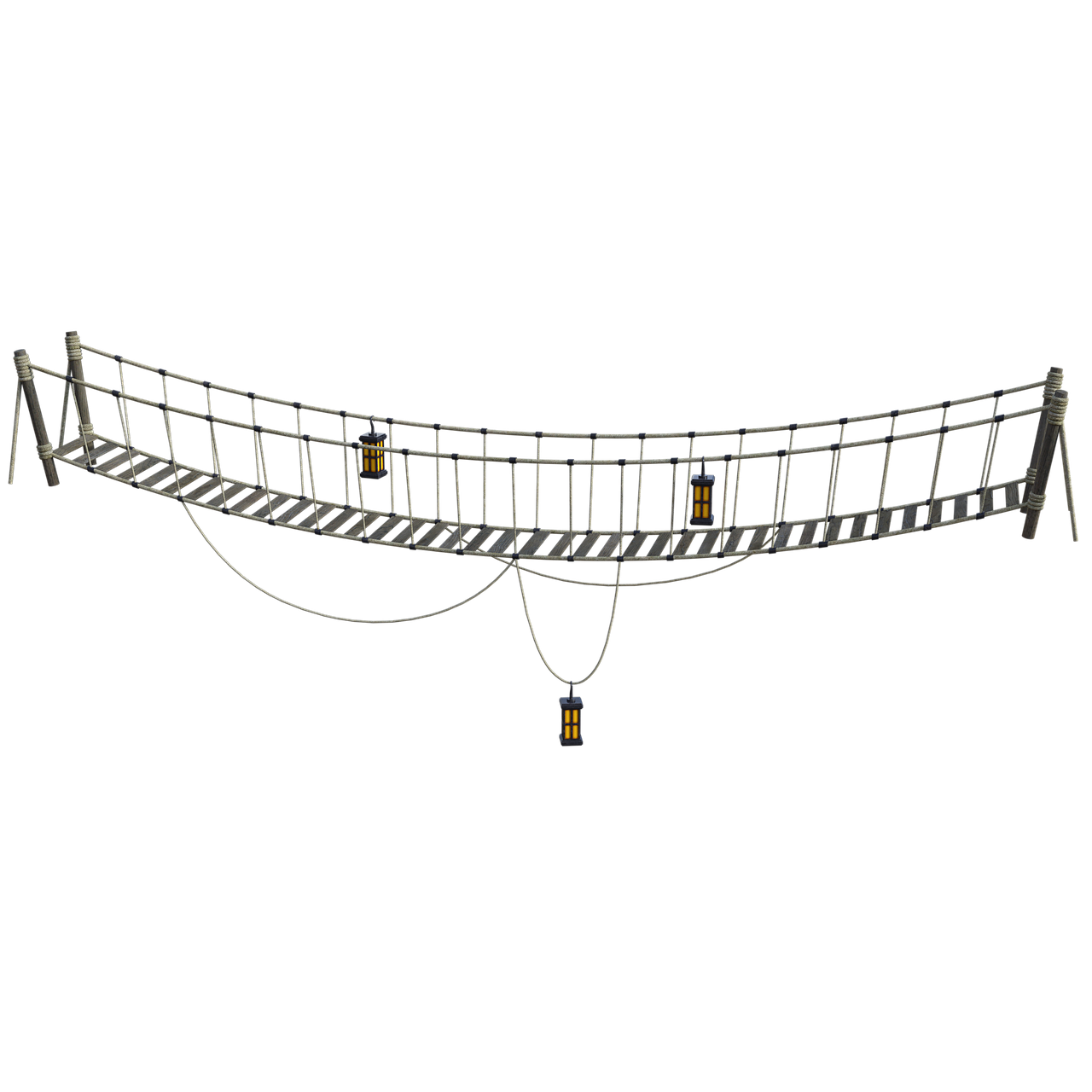сети постер подвесной канатный мост хофф преддверье праздника наша