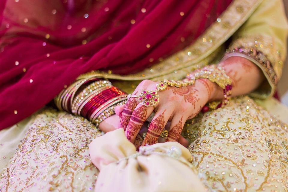 Wedding, Indian, Henna, Mehndi, Jewelry, Bollywood