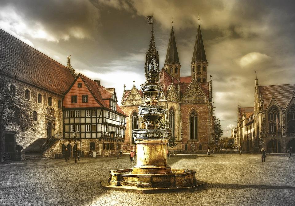 Braunschweig, Altstadt, Niedersachsen, Historisch
