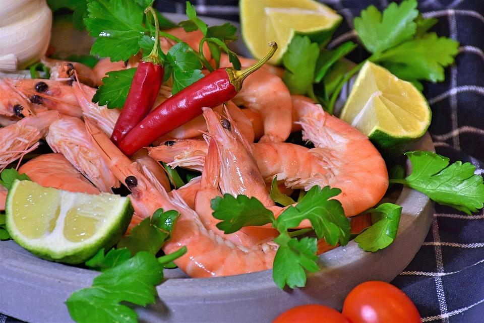 Udang, salah satu makanan penyebab asam urat. (Foto: Pixabay)