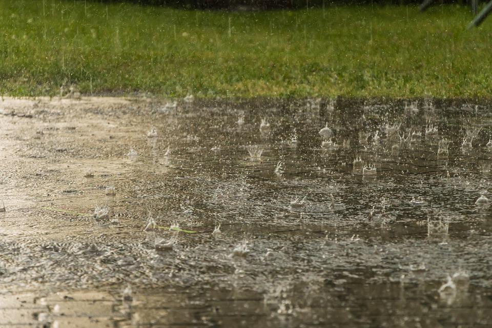 Regen, Wetter, Regentropfen, Starkregen, Unwetter, Nass