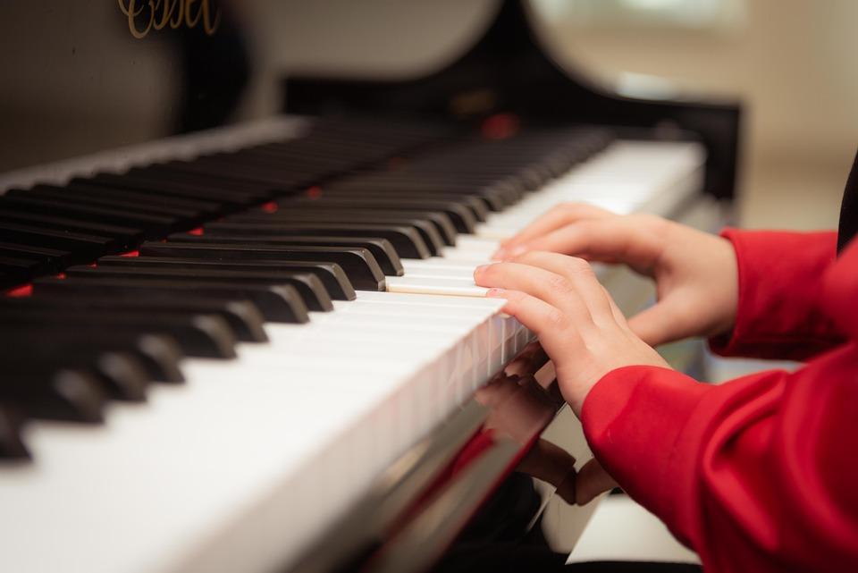 Пиано, Играе, Обучение, Урок По Пиано