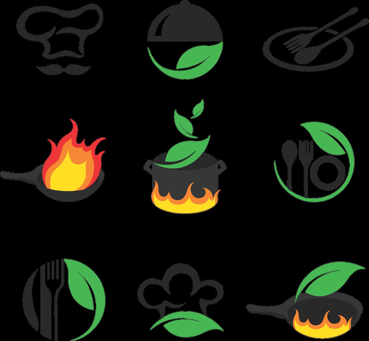 logo masakan makanan gambar vektor gratis di pixabay https creativecommons org licenses publicdomain