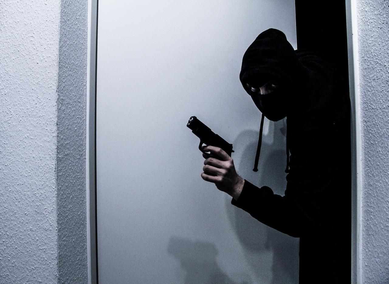Chances that a burglary in the United States will be solved: 1 in 7