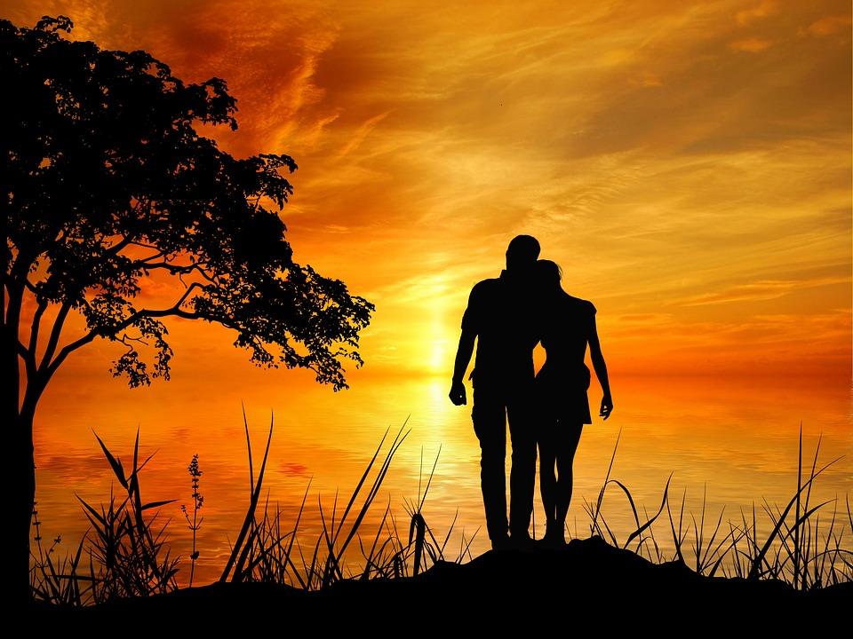Romantische Liebe Fotos