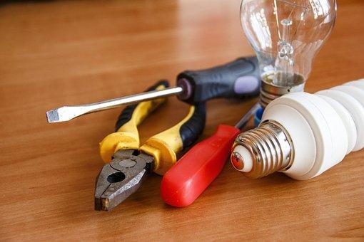 Ferramenta, eletricidade, elétrica