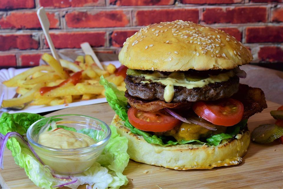 Burger, Hamburger, Bbq, Hamburger Al Formaggio, Rotolo