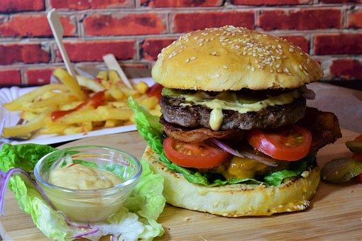 Burger, Hamburguesa, Barbacoa