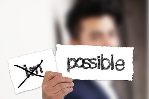Geschäftsmann, Möglich, Unmöglich