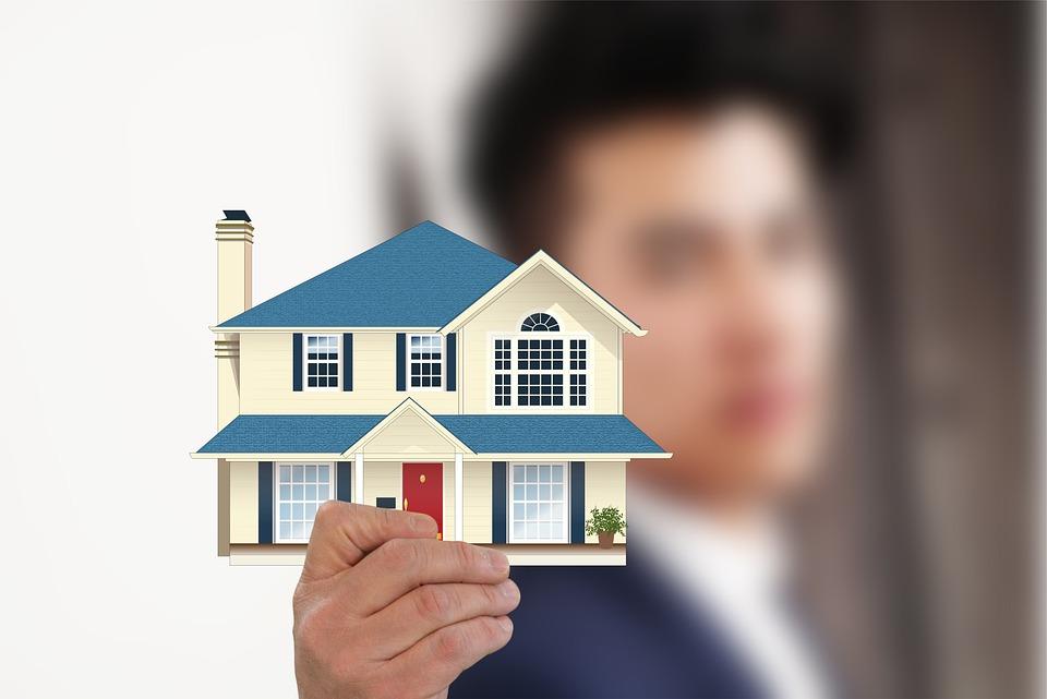 House, Property, Hand, Keep, Businessman, Presentation