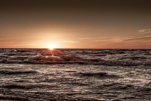 Tramonto Sul Mare Immagini Pixabay Scarica Immagini Gratis