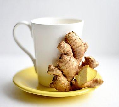Ginger, Ginger Tea, Hot Drink, Drink