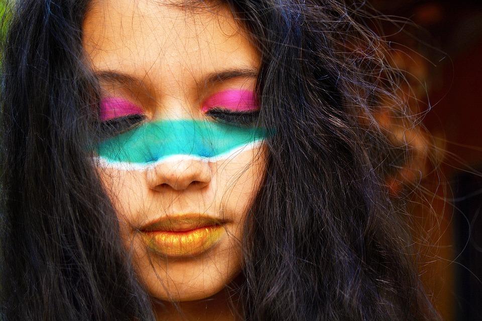 Kız Kadınlar Yüz Boyama Pixabayde ücretsiz Fotoğraf