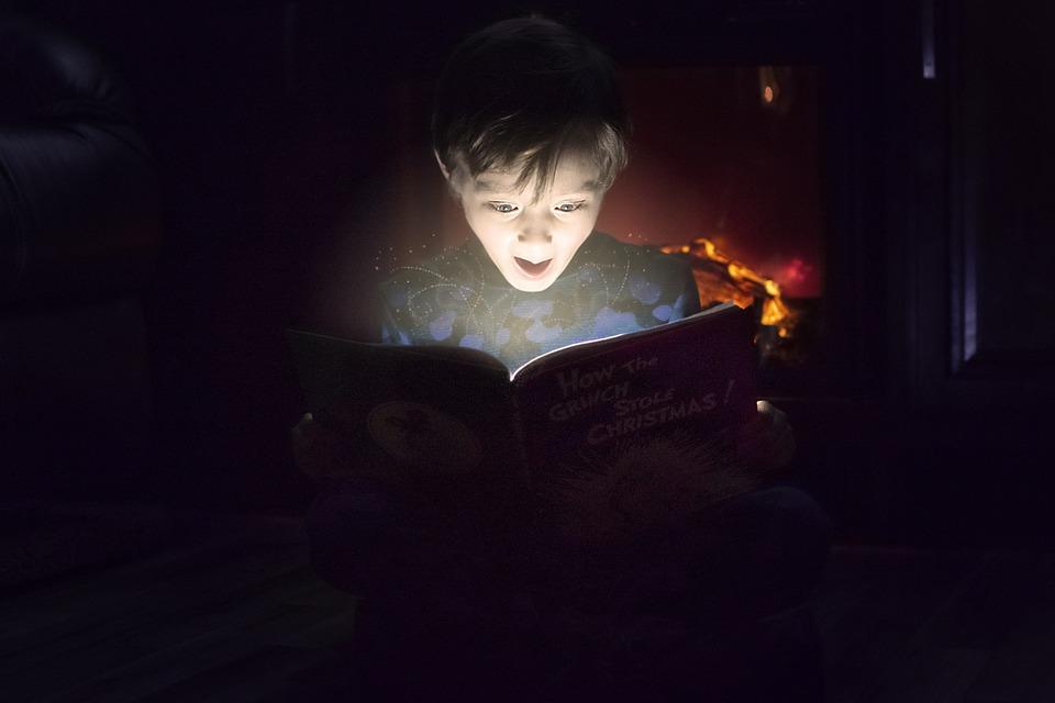 Reading, Surprised, Children Reading, Read, Book, Books