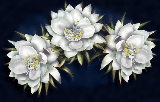 クチナシの花言葉6つ・名前の由来と少し怖い言い伝え