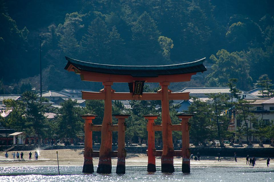 O-Torii, Gate, Torii, Japan, Shrine, Japanese, Shinto
