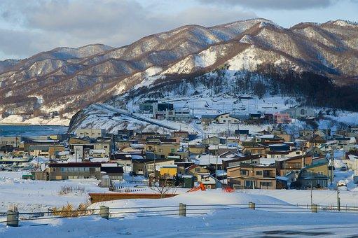 日本, 北海道, 冬, 雪, 札幌
