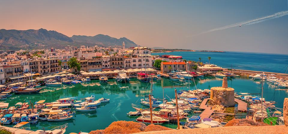 Kyrenia, Girne, Cypress, North Cyprus, Turkey, Port