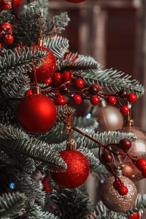 Nouvel An, Noël, Nouvelles, Vacances, Ornement, Arbre