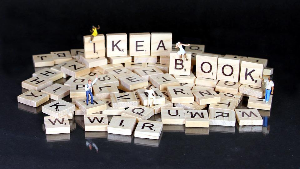 Book, Kit, Miniature Figures, Ikea, Letters, Puzzle