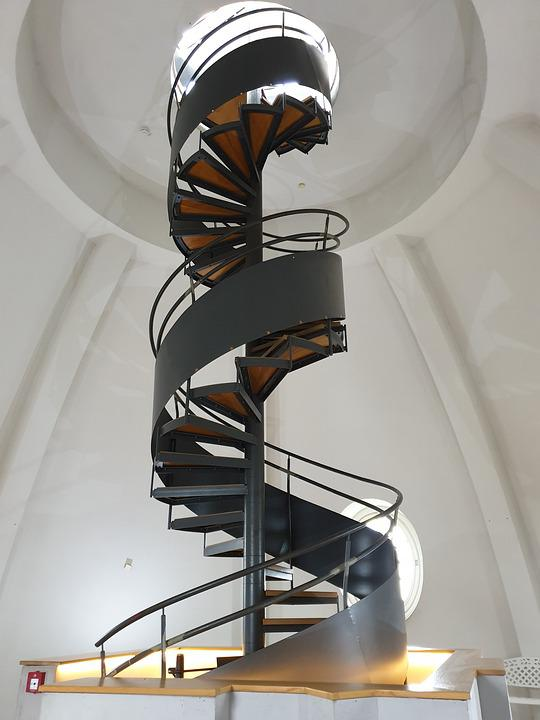 Spiral Staircase Tower Castle Architecture