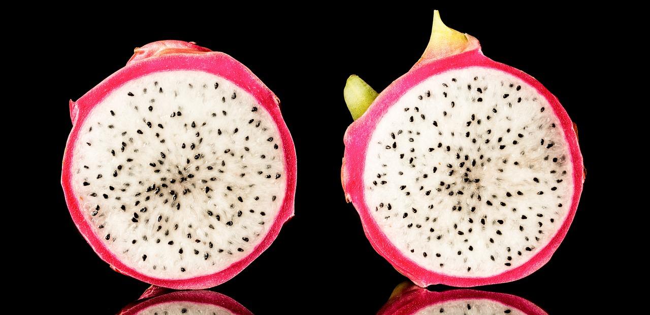 Dragon Fruit Isolated On Black - Free photo on Pixabay