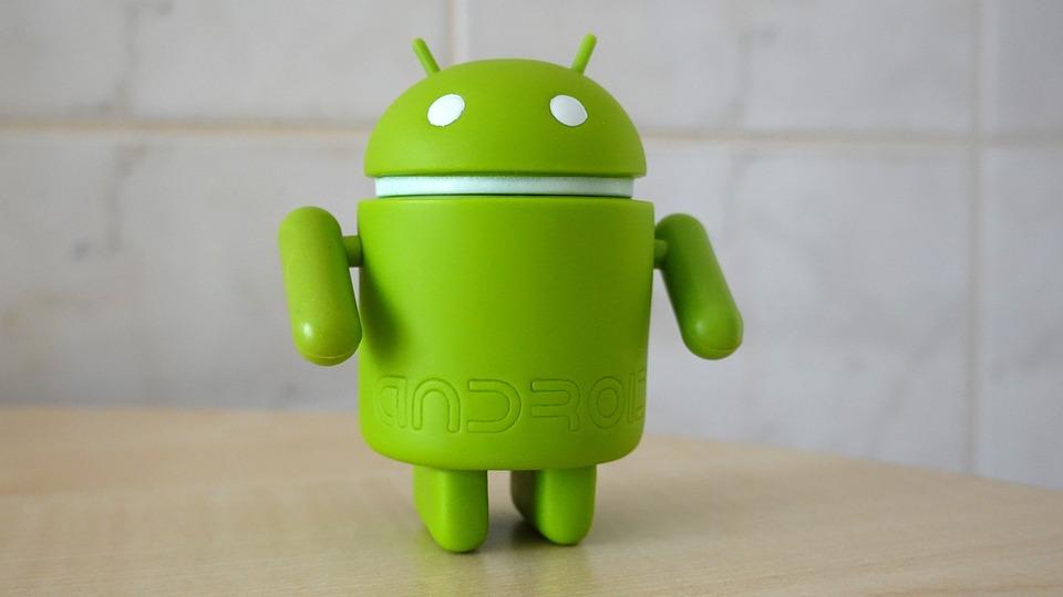 Андроид, Гугл, Зеленый, Робот, Смартфон, Логотип