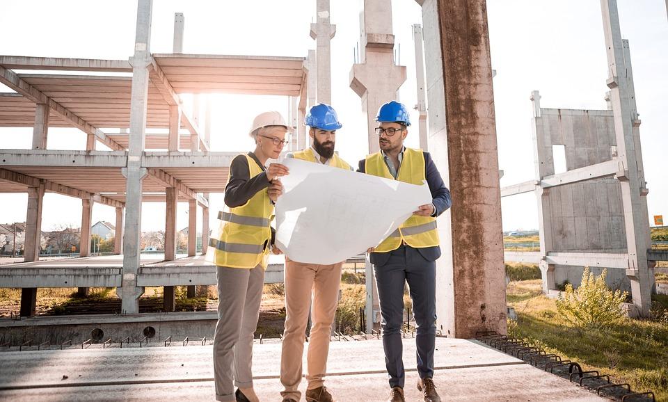 Architect, People, Plan, Construction