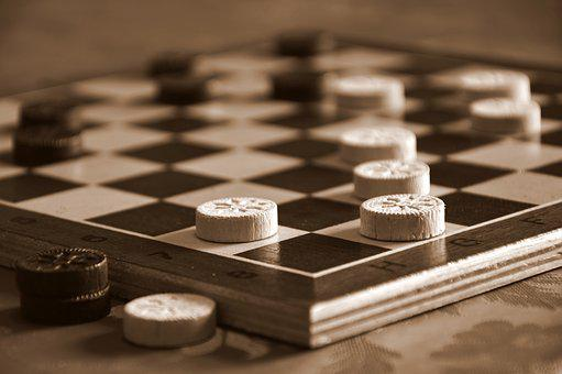 Play, Board Game, Lady, Game Board, Wood