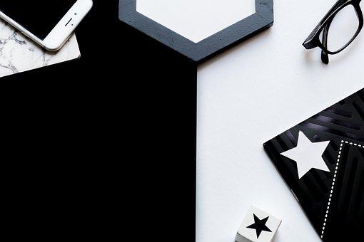 ブラック, ホワイト, 眼鏡, Iphone, バック グラウンド, 壁紙