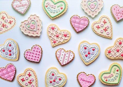 Valentine'S Day, Valentine, Cookies