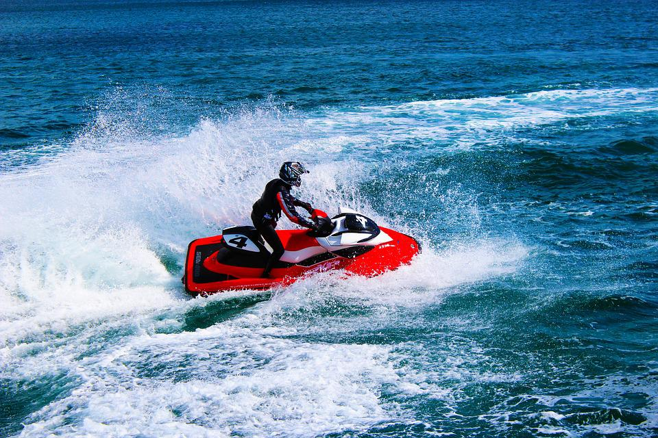 Jetski, Water, Sea, Sport, Fast, Race, Transport, Fun