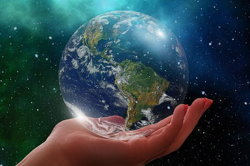 Globe, Earth, America, Usa