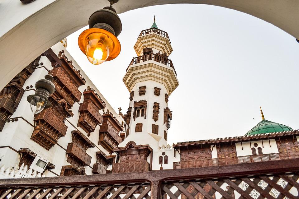 Мечеть, Деревянные, Наследия, Musium, Джидда