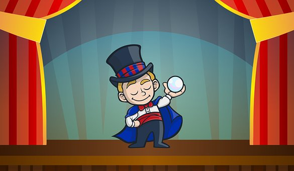 Image result for little boy magician cartoon free image