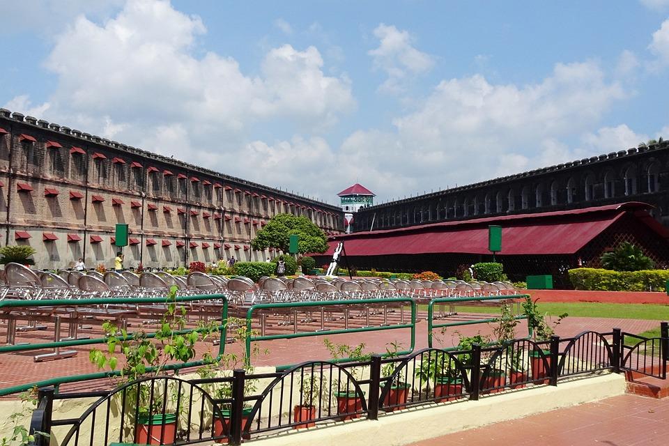 Jail, Cellular, Prison, Colonial, Architecture