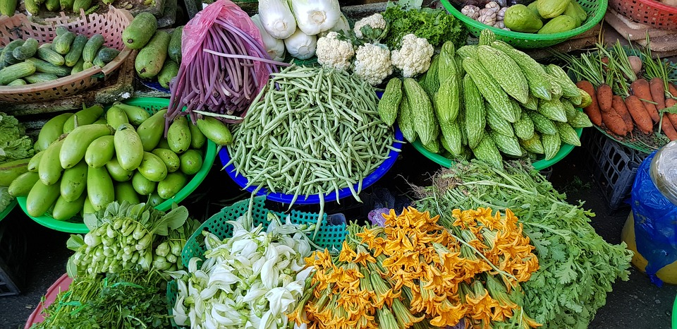 Vegetables, Vietnam, Food, Colour, Natural, Fresh