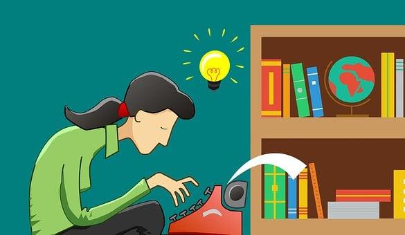 Écrire, Écrivain, Type, Machine