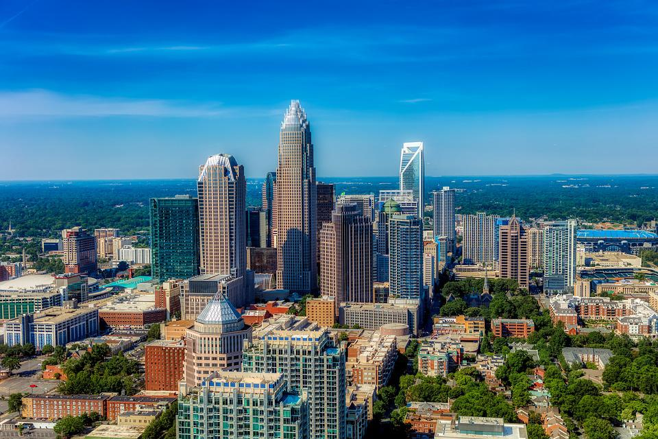 Charlotte, North Carolina, City, Skyline, Cityscape