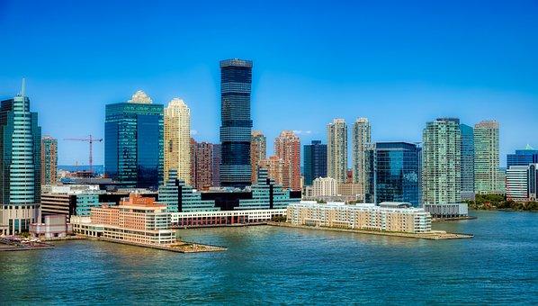 Jersey City, New Jersey, America, Urban, Waterfront