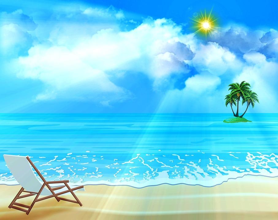 Unduh 730 Background Biru Laut Keren HD Gratis
