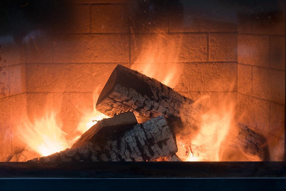 Kominek, Ogień, Ciepła, Palić, Gorąco, Płomień, Drewna