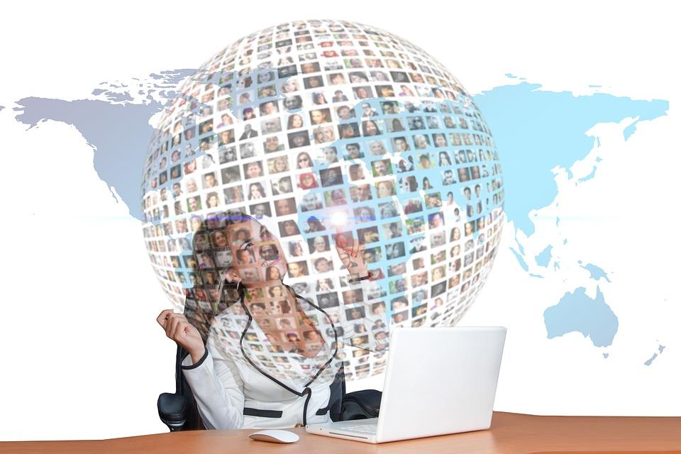 Businesswoman, Personal, Communication, Social Network