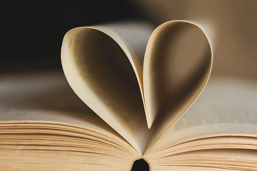 Książka, Stron, Strony Książki, Serce
