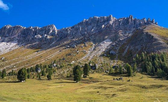 Alpen, Dolomiten, Berge, Gebirge